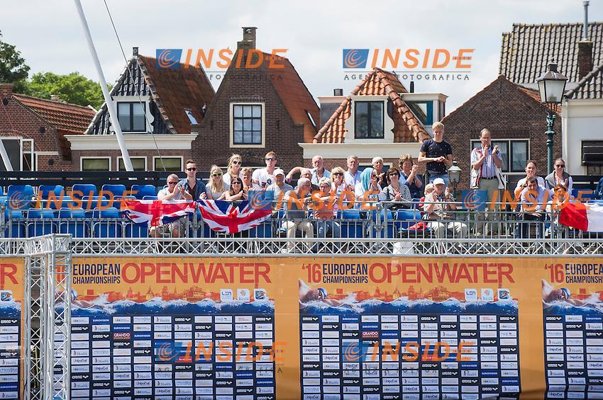 Audience<br /> Hoorn, Netherlands <br /> LEN 2016 European Open Water Swimming Championships <br /> Open Water Swimming<br /> Men's 5km<br /> Day 02 12-07-2016<br /> Photo Giorgio Perottino/Deepbluemedia/Insidefoto