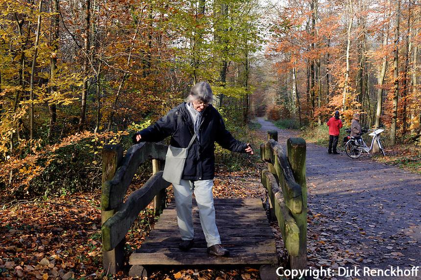 Wackelpfad,  Historisch-ökologischer Erlebnispfad Wohldorf-Ohlstedt, Hamburg, Deutschland