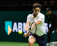 ABNAMRO World Tennis Tournament, 15 Februari, 2018, Rotterdam, The Netherlands, Ahoy, Tennis, Pierre-Hugues Herbert (FRA)<br /> <br /> Photo: www.tennisimages.com