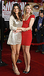 """Actress Lake Bell and actress Cameron Diaz arrive at the Premiere Of Fox's """"What Happens In Vegas"""" on May 1, 2008 at the Mann Village Theatre in Los Angeles, California."""