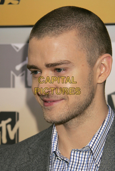 JUSTIN TIMBERLAKE.Arrivals - 2006 MTV Video Music Awards held at Radio City Music Hall, New York City, New York, USA,.31st August 2006..portrait headshot .Ref: ADM/RE.www.capitalpictures.com.sales@capitalpictures.com.©Russ Elliot/AdMedia/Capital Pictures.