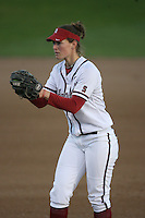 15 February 2008: Stanford Cardinal Missy Penna during Stanford's 11-0 win against the Wichita State Shockers in the Stanford Invitational I at the Boyd and Jill Smith Family Stadium in Stanford, CA.