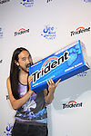 """Trident and DJ Steve Aoki invite fans to """"See What Unfolds"""" at a live concert on June, 20, 2012 at Terminal 5, New York City, New York. (Photo by Sue Coflin/Max Photos)"""