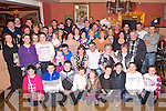 Brendan O'Donoghue, Ballyspillane, Killarney, pictured with his family and friends as he celebrated his 40th birthday in Darby O'Gills hotel, Killarney on Saturday night.