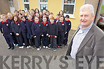 Principal Micheal O'Cinneide who retired from Listellick national school yesterday (Wednesday) pictured 3rd class.