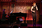 """Georgia Stitt and Kate Baldwin during her press preview for """"How did I get this number?"""" on October 3, 2018 at Feinstein's/54 Below in New York City."""