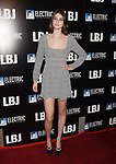 LOS ANGELES, CA - OCTOBER 24:  Model Romy Reiner arrives at the premiere of Electric Entertainment's 'LBJ' at the Arclight Theatre on October 24, 2017 in Los Angeles, California.