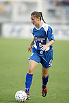 11 June 2003: Breanna Boyd of Canada. The Carolina Courage defeated the Washington Freedom 3-0 at SAS Stadium in Cary, NC in a regular season WUSA game..Mandatory Credit: Scott Bales/Icon SMI