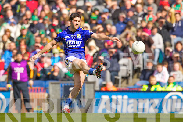 Bryan Sheehan Kerry in action against   Mayo in the National Football League Semi Final at Croke Park on Sunday.