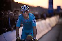 Lars Boom (NLD/Astana) finishes far back in the pack  as 43rd...<br /> <br /> UCI Cyclocross World Cup Heusden-Zolder 2015