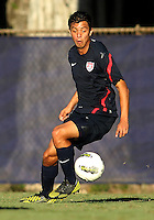 MIAMI, FL - DECEMBER 21, 2012:  Juan Pablo Ocegueda of the USA MNT U20 during a closed scrimmage with the Venezuela U20 team, on Friday, December 21, 2012, At the FIU soccer field in Miami.  USA won 4-0.
