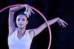 Viktoria Mazur (UKR), <br /> OCTOBER 4, 2015 - Rhythmic Gymnastics : <br /> AEON CUP 2015 Worldwide R.G. Club Championships <br /> exhibition event<br /> at Tokyo Metropolitan Gymnasium, Tokyo, Japan. <br /> (Photo by AFLO SPORT)