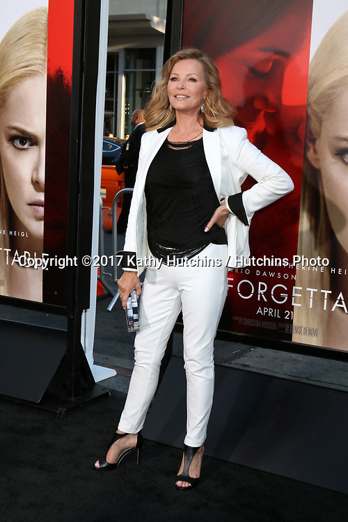 "LOS ANGELES - APR 18:  Cheryl Ladd at the ""Unforgettable"" Premiere at TCL Chinese Theater IMAX on April 18, 2017 in Los Angeles, CA"