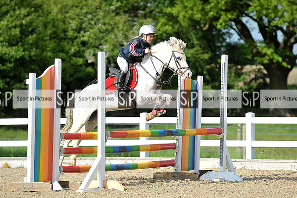Class 7. British Showjumping (BS) Juniors. Brook Farm training centre. Stapleford Abbotts. Essex. 13/05/2017. MANDATORY Credit Garry Bowden/Sportinpictures - NO UNAUTHORISED USE - 07837 394578