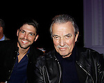 """Robert Adamson and Eric Braeden """"Victor Newman"""" - The Young and The Restless - Genoa City Live celebrating over 40 years with on February 20, 2016 at the Wellmont Theatre, Montclair, NJ. on stage with questions and answers followed with autographs and photos in the theater.  (Photo by Sue Coflin/Max Photos)"""