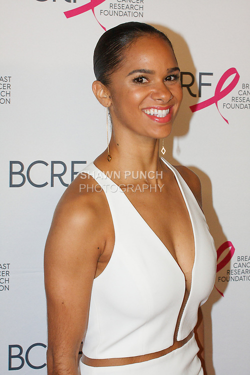 "Misty Copeland attends The Breast Cancer Research Foundation ""Super Nova"" Hot Pink Party on May 12, 2017 at the Park Avenue Armory in New York City."