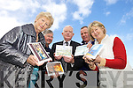 HELP SUPPORT THE CAUSE: Kerry Hospice Foundation launched their 2010 Christmas Card Collection this week. From l-r were: Cllr. Mairead Fernane, David Moriarty, Frank Hayes (Kerry Group), Dan Galvin and Eileen McCarthy.