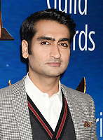 BEVERLY HILLS, CA - FEBRUARY 11: Actor-writer Kumail Nanjiani attends the 2018 Writers Guild Awards L.A. Ceremony at The Beverly Hilton Hotel on February 11, 2018 in Beverly Hills, California.