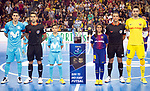 League LNFS 2017/2018.<br /> PlayOff Final-Game 4.<br /> FC Barcelona Lassa vs Movistar Inter FS: 3-3.<br /> FCB por penaltys.