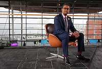 Vaughan Gething, Welsh government cabinet member for Sport, Health and Wellbeing at the Senedd in Cardiff Bay, Wales, UK. Wednesday 01 March 2017