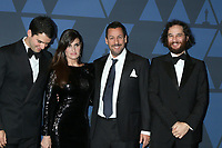 LOS ANGELES - OCT 27:  Benny Safdie, Idina Menzel, Adam Sandler, Josh Safdie at the 11th Annual Governors Awards at the Dolby Theater on October 27, 2019 in Los Angeles, CA