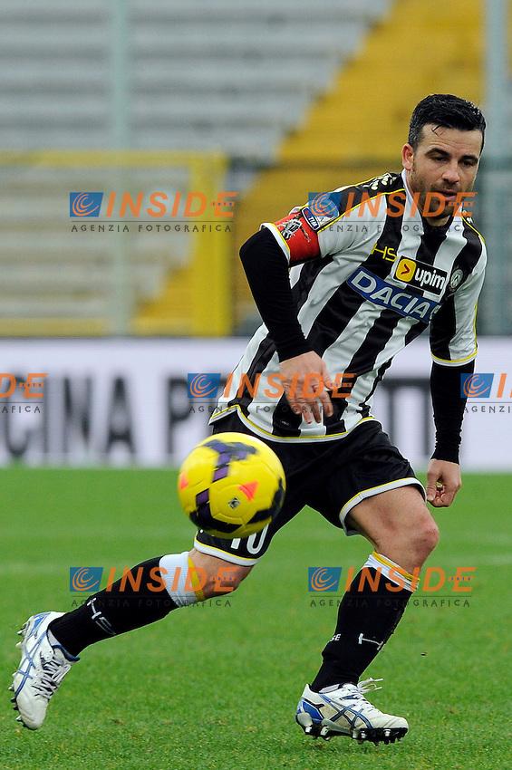 Antonio Di Natale Udinese <br /> Udine 19-01-2014, Stadio Friuli, Football Calcio 2013/2014 Serie A, Udinese - Lazio, Foto Insidefoto
