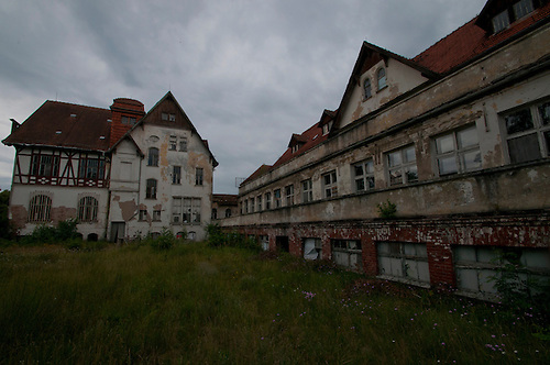 Another abandoned hospital found in East Germany. This has been left alone by the vandals, but it is really falling apart, some parts were very dangerous. It was also quite a mission to get in to most of the bulidings.