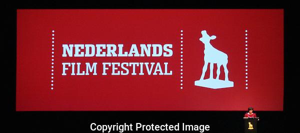 20120926 - Utrecht - Foto: Ramon Mangold - Nederlands Film festival, NFF 2012, Openingsavond, festivaldirecteur Willemien van Aalst