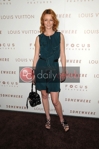 """Audrey Marnay<br /> at the Premiere Of Focus Features' """"Somewhere,"""" Arclight Theater, Hollywod, CA. 12-07-10<br /> David Edwards/DailyCeleb.com 818-249-4998"""