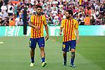 52e Trofeu Joan Gamper.<br /> FC Barcelona vs Chapecoense: 5-0.<br /> Luis Suarez &amp; Lionel Messi.