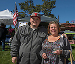 Darren and Renae Wingen during the inaugural Bud and Brew Music Festival in Wingfield Park in downtown Reno on Saturday, Sept. 23, 2017.
