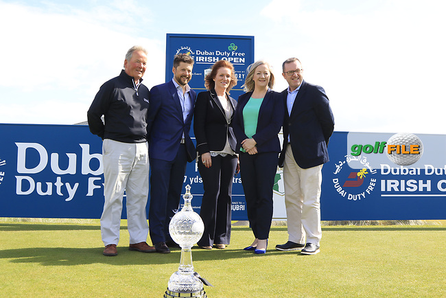 Media Day to preview the Dubai Duty Free Irish Open hosted by the Rory Foundation to be held at Portstewart Golf Club from July 6-9. 17th May 2017.<br /> Picture: Eoin Clarke | Golffile<br /> <br /> <br /> All photos usage must carry mandatory copyright credit (&copy; Golffile | Eoin Clarke)