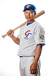 Chou, Szu-Chi of Team Chinese Taipei poses during WBC Photo Day on February 25, 2013 in Taichung, Taiwan. Photo by Victor Fraile / The Power of Sport Images