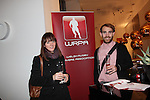 Cardiff, WALES - November 22:.Otley Brewery event at the Radisson Blu Hotel.Helen & Phillip Woodward.22.11.12..©Steve Pope