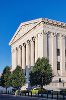 Supreme Court Building, eastern facade, Washington D.C., USA