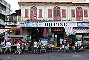 An old styled kopitiam in capital Georgetown of Penang in Malaysia, India. Photo: Sanjit Das/Panos