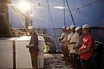 Friday Prayer onboard  of the Rongdhonu Friendship Hospital docked outside the mongla port 29 April 2014