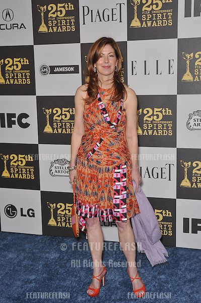 Dana Delaney at the 25th Anniversary Film Independent Spirit Awards at the L.A. Live Event Deck in downtown Los Angeles..March 5, 2010  Los Angeles, CA.Picture: Paul Smith / Featureflash