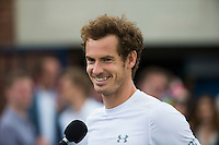 ANDY MURRAY (GBR)<br /> <br /> TENNIS - AEGON CHAMPIONSHIPS -  2015 -  QUEENS CLUB - LONDON -  ATP 500- 2015  - ENGLAND - UNITED KINGDOM<br /> <br /> &copy; AMN IMAGES