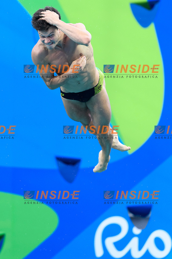 HASUDING Patrick GER  <br /> Rio de Janeiro 15-08-2016 Maria Lenka Aquatics Center  <br /> Men's 3m Springboard Preliminaries <br /> Diving Tuffi <br /> Foto Andrea Staccioli / Deepbluemedia /Insidefoto