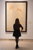 Pictured: Painting Deux femmes et enfant 1922 by Pablo Picasso. Estimated to fetch $10-15 million. <br /> <br /> Christie's London unveils touring highlights from the New York &quot;Impressionist &amp; Modern Art Evening Sale&quot; which are on free public view from 28 March to 1 April, ahead of the auction in New York on 6 May 2014.