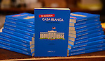 CORAL GABLES, FL - OCTOBER 21: General view book on display during Author Carlos De Vega in conversation with Gina Montaner signs copies of his book 'Se alquila Casa Blanca' at Books and Books on October 21, 2013 in Coral Gables, Florida. (Photo by Johnny Louis/jlnphotography.com)