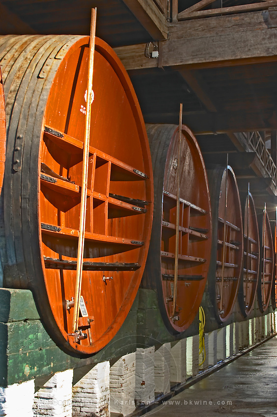 Storage vats.  Mas Amiel, Maury, Roussillon, France