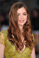 "Charlotte Hope<br /> at the London Film Festival premiere for ""A United Kingdom"" at the Odeon Leicester Square, London.<br /> <br /> <br /> ©Ash Knotek  D3160  05/10/2016"