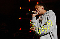 LOS ANGELES, CALIFORNIA - JUNE 22: Trippie Redd performs at the 7th Annual BET Experience at L.A. Live Presented by Coca-Cola at Staples Center on June 22, 2019 in Los Angeles, California. Photo: imageSPACE/MediaPunch
