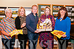 """Come Dine with Emmets Launch : Pictured at Listowel Emmet's Clubhouse  to announce the upcoming """"Come Dine with Emmets"""" fund raising  event to be held on Saturday November 23rd next were Michelle O'Connell, Sarah Moriarity, Sean Hennelly, Karema Buckley & Orla Keane."""
