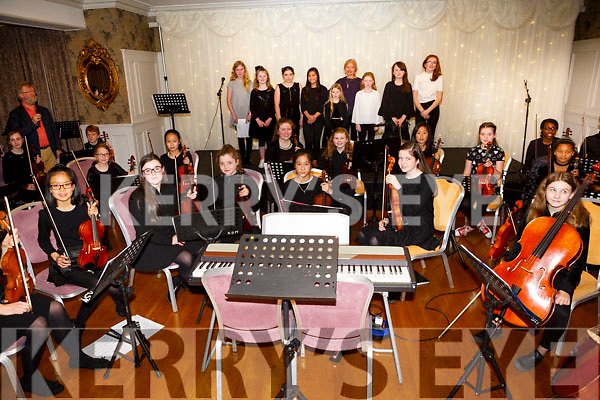 At the Kerry School of Music Concert in the rose Hotel on Sunday
