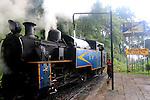 Nilgiri mountain railway, steam train locomotive