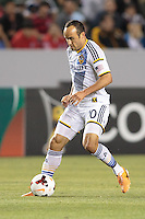 CARSON, California - March 12, 2014: The LA Galaxy defeated Los Xolos de Tijuana, Baja Norte, Mex. 1-0 during CONCACAF Champions League quarter final play at StubHub Center stadium.