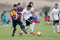 Oceanside, CA - June 20, 2019: U.S. Soccer Development Academy Boy's Showcase at the SoCal Sports Complex.